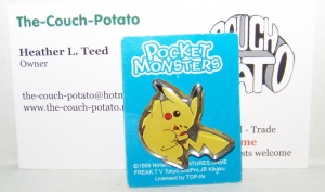Pocket Monsters Pokemon Pins Pikachu