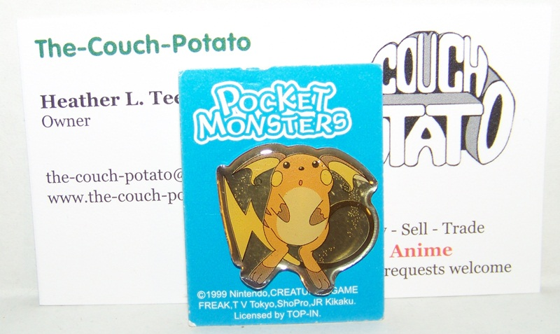 Pocket Monsters Pokemon Pins Raichu