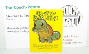 Pocket Monsters Pokemon Pins Squirtle